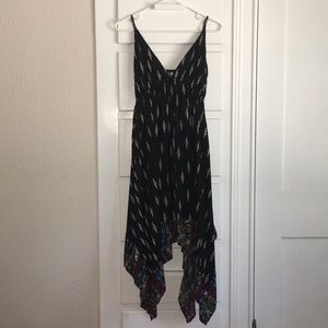 Black strappy dress size S